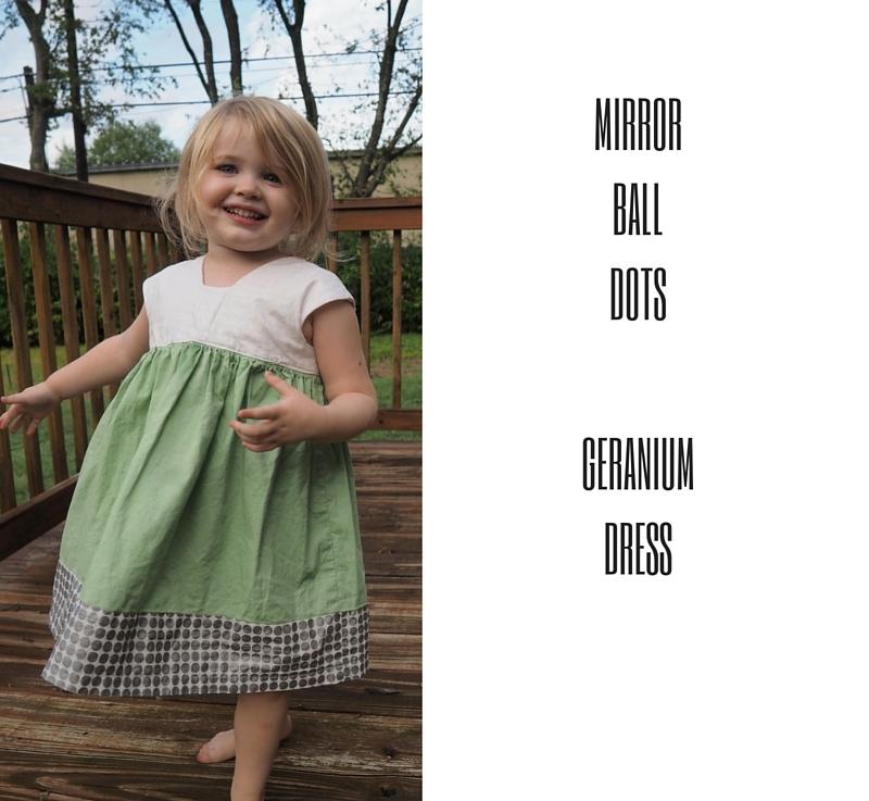 FO Friday – Mirror Ball GeraniumDress