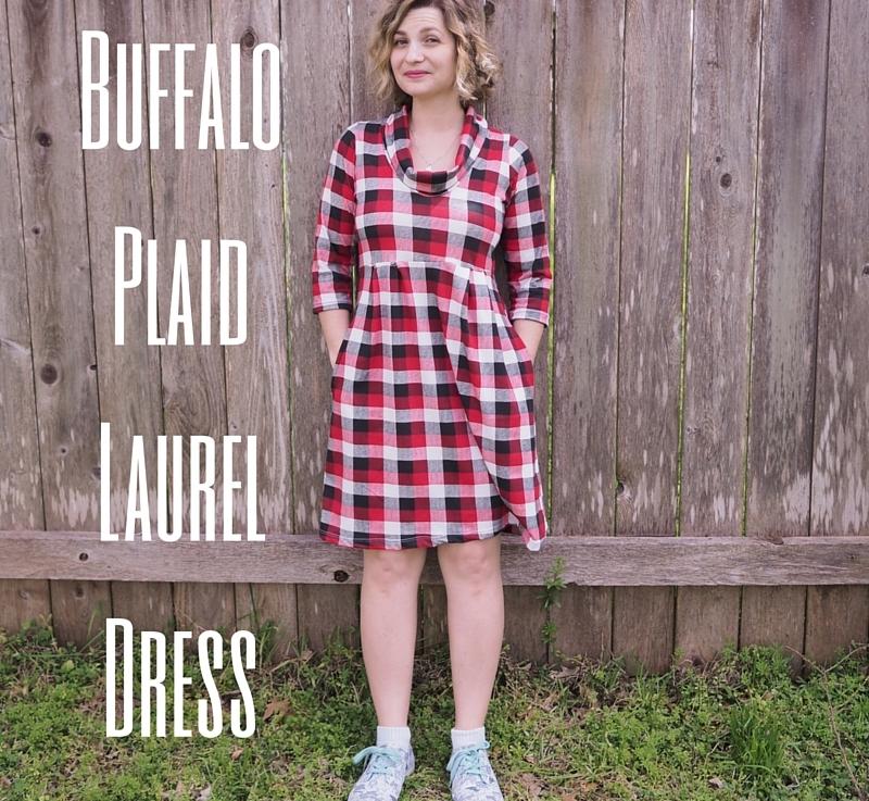 FO Friday – Buffalo Plaid LaurelDress