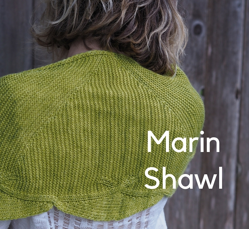 FO Friday – Marin Shawl