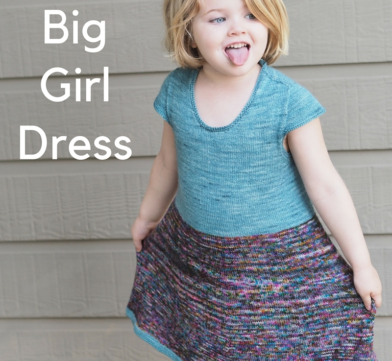 FO Friday – Big Girl Dress
