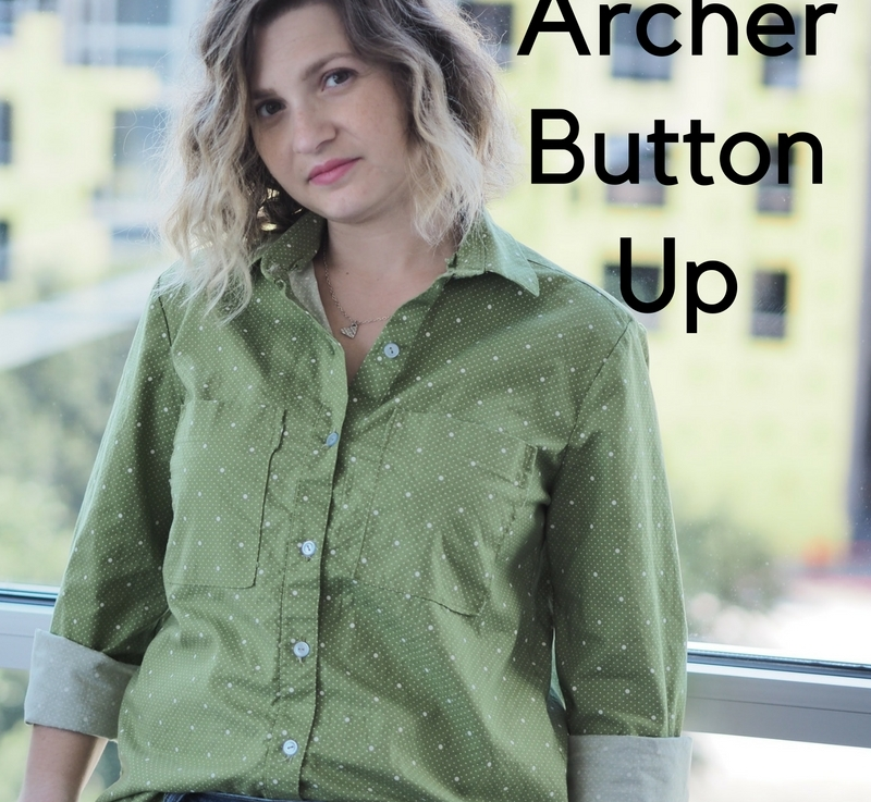 FO Friday – Poplin Archer Button Up