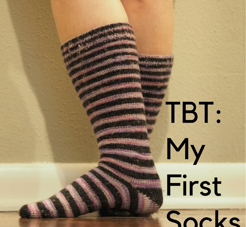 TBT: My First Socks