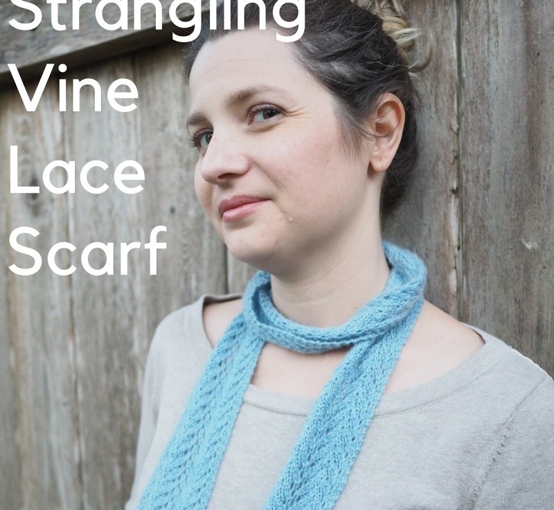 FO Friday: Strangling Vine Lace Scarf