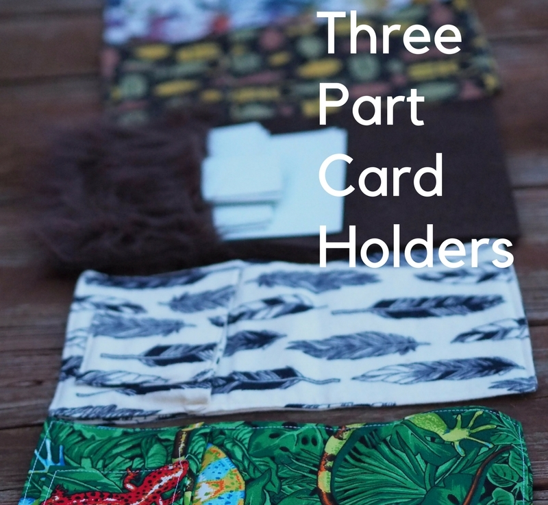 FO Friday: 3 Part CardHolders