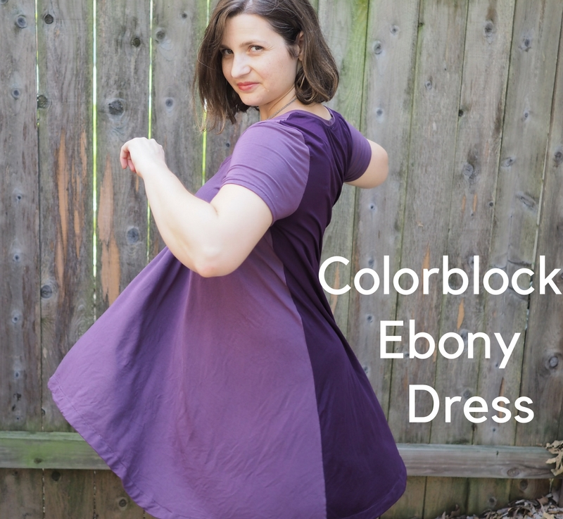 FO Friday: Colorblocked Ebony Dress