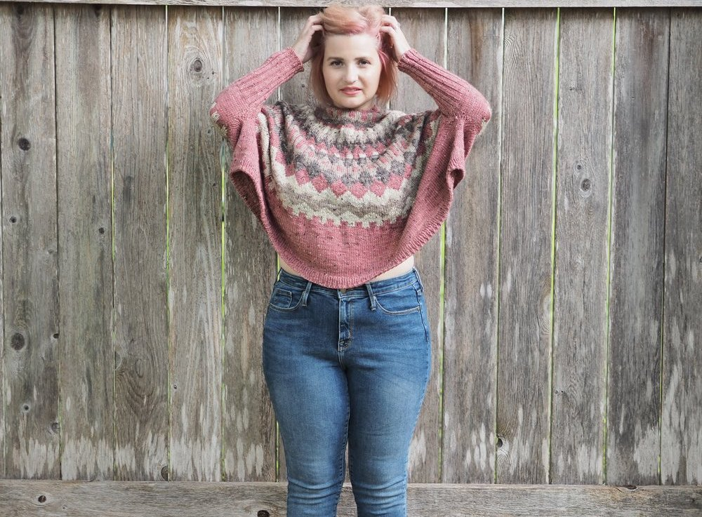 FO Friday – Handspun Paloma