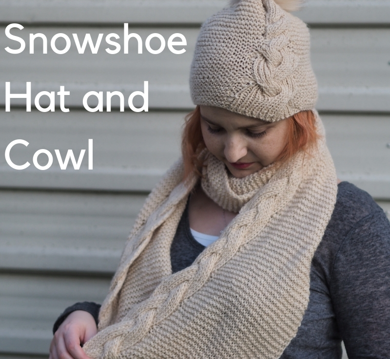 FO Friday: Snowshoe Hat Cowl